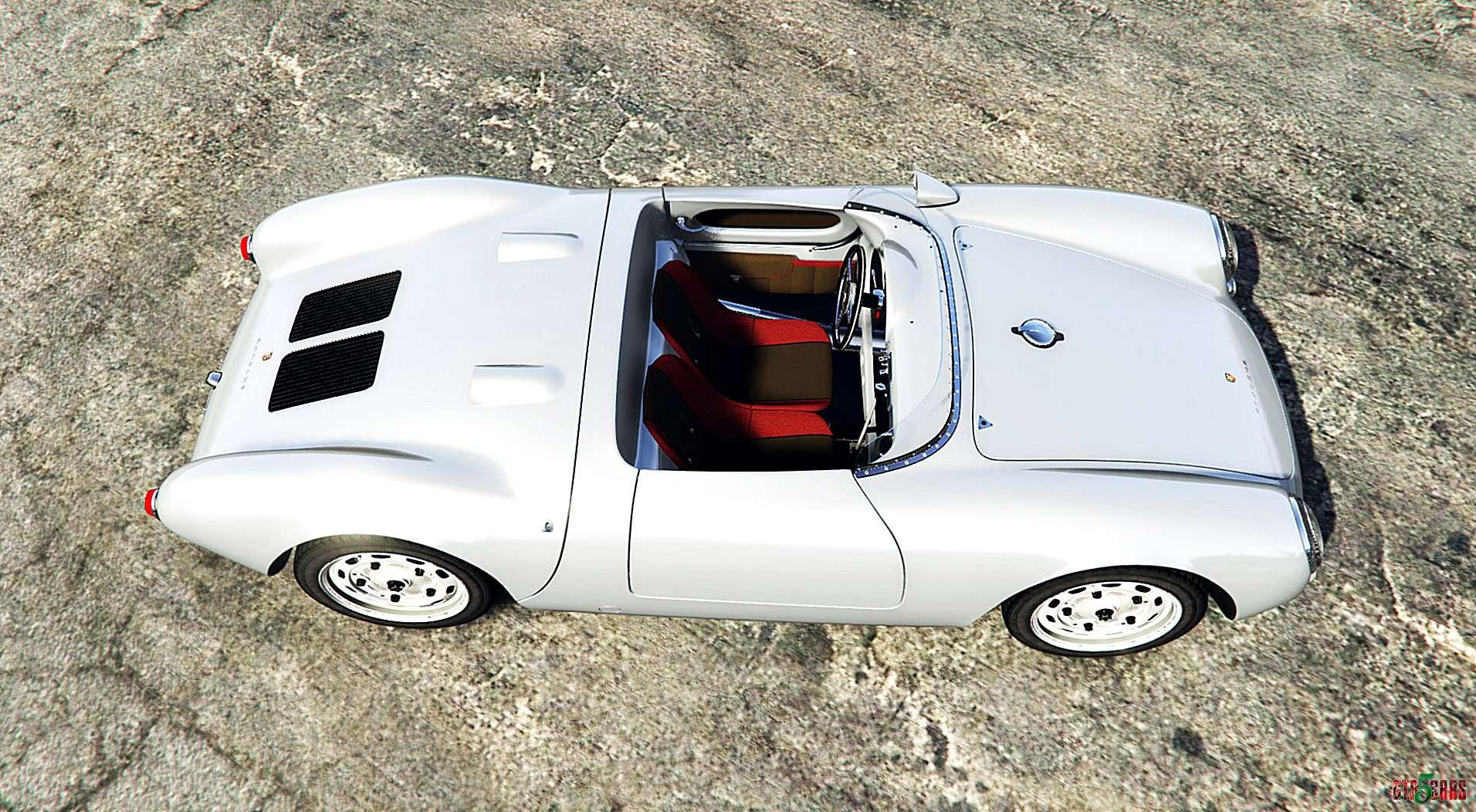 ... Porsche 550A Spyder 1956 [add On] Exterior ...